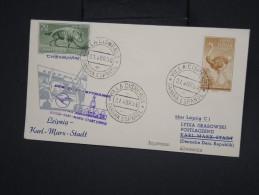 SAHARA ESPAGNOL - Enveloppe De Villacisneros Pour Leipzig En 1958 - à Voir - Lot P7809 - Sahara Espagnol