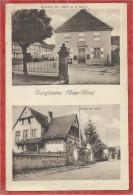 67 -  BERGBIETEN - 2 Vues - Mairie - Epicerie Ch. JOST - Ecole De Filles - France