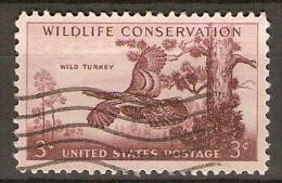 ETATS - UNIS     -    WILD TURKEY    -     Oblitéré - Oiseaux