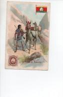 LA POSTA  IN  BOLIVIA  , Pubblicitaria Achille Brioschi  , Milano  , Lysoform - Bolivia