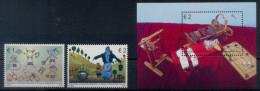 Kosovo 2015 Europa CEPT, Old Toys, Block, Set + Souvenir Sheet MNH - Kosovo