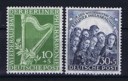 Berlin 1951, Mi Nr 72 - 73 MH/* - Ungebraucht