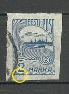 ESTLAND ESTONIA 1920 Michel 17 + ERROR O - Estonie