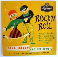Disque Vinyle 45T BILL HALEY And Is Comets - RAZZLE DAZZLE - BRUNSWICK RECCORDS OE 9214 - 1956 BIEM - Rock