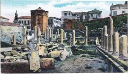 Cpa  ATHENES  Temple D Eole Et L Agora - Griekenland