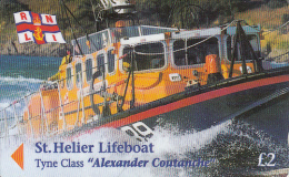JERSEY ISL. - St.Helier Lifeboat/Alexander Coutanche, CN : 46JERB(normal 0), Tirage %25000, Used - United Kingdom