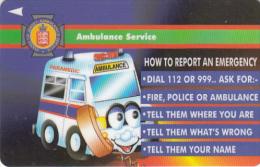 JERSEY ISL.(GPT) - Ambulance Service, CN : 41JERE(normal 0), Tirage %20000, Used - United Kingdom