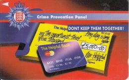 JERSEY ISL.(GPT) - Police/Crime Prevention Panel, CN : 41JERB(normal 0), Tirage %19700, Used