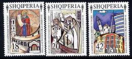 ALBANIA 1995  Tourism Organisation Set Of 3   MNH / **.  Michel 2573-75 - Albania