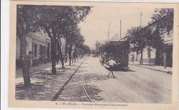 ALGERIE. EL BIAR. N 6.  AVENUE GEORGES CLEMENCEAU. TRAMWAY GROS PLAN.  CPAA - Autres Villes