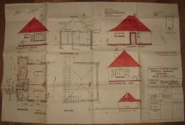 Plan Bungalow 1954 -  Commune De Zoersel - Voir Scans - Architecture