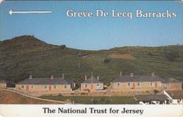 JERSEY ISL. - The National Trust For Jersey/Greve De Lecq Barracks, CN : 13JERC(normal 0), Tirage %25000, Used - United Kingdom