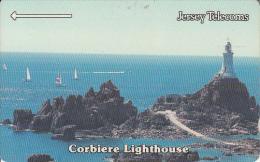 JERSEY ISL.(GPT) - Corbiere Lighthouse, CN : 7JERA(normal 0), Tirage %50000, Used - United Kingdom