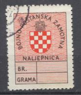 NDH, Croatia, Military Postal Label, Cinderella, Vignete - Kroatien