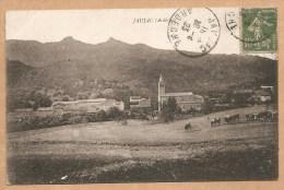 JAUJAC  (Ardéche)  - Voyagée 1923 - VACHES - Autres Communes