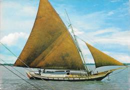 GUYANNE FRANCAISE - Tapouille Brésilienne Dans Le Port De CAYENNE - Cayenne