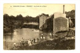 CPA 85 Vendée Cugand Fradet Les Bords De La Sèvre Animé - Andere Gemeenten