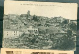 n�842 - Argenton-chateau ( deux s�vres ) - vue panoramique   rau91