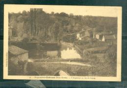 n�35 - Argenton- chateau ( deux s�vres ) - l' Argenton au bas du bourg   rau93