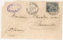 LA ROCHE,Haute Savoie Sur Devant, F. GAVARD, Huissier. - 1877-1920: Période Semi Moderne