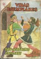 12492 MAGAZINE REVISTA MEXICANAS COMIC VIDAS EJEMPLARES SAN JERONIMO EMILIANI Nº 102 AÑO 1961 ED ER NOVARO - Boeken, Tijdschriften, Stripverhalen
