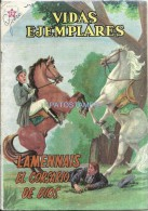 12493 MAGAZINE REVISTA MEXICANAS COMIC VIDAS EJEMPLARES LAMENNAIS EL CORSARIO DE DIOS Nº 96 AÑO 1961 ED ER NOVARO - Boeken, Tijdschriften, Stripverhalen