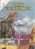 12496 MAGAZINE REVISTA MEXICANAS COMIC VIDAS EJEMPLARES SANTA MARGARITA MA. ALACOQUE Nº 109 AÑO 1961 ED ER NOVARO - Boeken, Tijdschriften, Stripverhalen