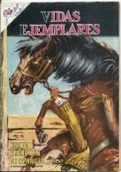 12500 MAGAZINE REVISTA MEXICANAS COMIC VIDAS EJEMPLARES BEATO SEBASTIAN DE APARICIO Nº 95 AÑO 1961 ED ER NOVARO - Boeken, Tijdschriften, Stripverhalen