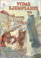 12501 MAGAZINE REVISTA MEXICANAS COMIC VIDAS EJEMPLARES SANTO DOMINGO DE GUZMAN Nº 107 AÑO 1961 ED ER NOVARO - Boeken, Tijdschriften, Stripverhalen