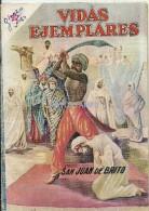 12502 MAGAZINE REVISTA MEXICANAS COMIC VIDAS EJEMPLARES SAN JUAN DE BRITO Nº 86 AÑO 1960 ED ER NOVARO - Boeken, Tijdschriften, Stripverhalen