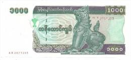 Myanmar 1000 Kyats Pick 77 Big Version UNC .S. - Myanmar