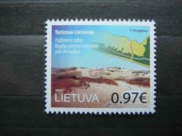 Tourism. Pervalka # Lietuva Litauen Lituanie Litouwen Lithuania # 2015 MNH #Mi. 1190 - Lithuania