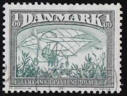 DENMARK - Scott #696 Ellehammer's Biplane (*) / Used Stamp - Airplanes