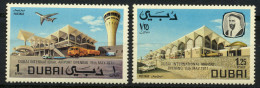 1971 DUBAI Airport Complete Set 2 Values MNH   (Or Best Offer) - Dubai
