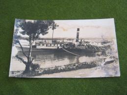 Brza Palanka Donau Dampfer REALPHOTO Steamer Danube Used 192? Pc (st523) Schiff Ship - Serbie