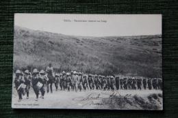 CAMPAGNE D'ORIENT, MAROC - TISSA , Territoriaux Rentrant Au Camp - Guerres - Autres