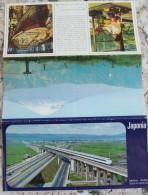 JAPAN-RAILL ROAD/AERIAN ROUTES - Wereld