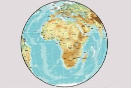 (NZ04-122  )   Africa  Map Karte Carte  ,  Postal Stationery -Articles Postaux - Zonder Classificatie