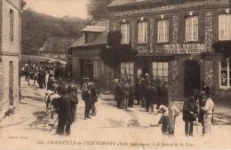 Dpt 76 - (Seine Maritime) -  222 - Grainville La Teinturière - L'Entrée De La Foire - Animée - Cany Barville
