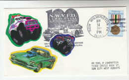 1993 USA 'NEW WILMINGTON FIRE DEPT ' EVENT COVER Pmk FIRE ENGINE Firefighting Firemen Stamps Car Pic Cars - Firemen