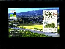 NEW ZEALAND - 2013  UPPER  HUTT  MS  MINT NH - Blocchi & Foglietti