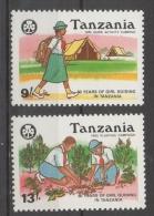 Tanzania 1990 - Scout MNH ** - Tansania (1964-...)