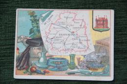 CARTE DEPARTEMENT DE L'INDRE - Geographical Maps