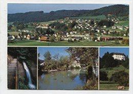 SWITZERLAND - AK 236399 Elgg - Fahrenbachtobel, Torweiher, Schloss - ZH Zurich