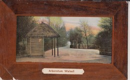 POSTCARD ABORETUM WALSALL POSTED 1909 - Wolverhampton
