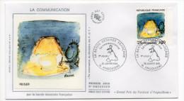 1988-LA COMMUNICATION Par La Bande Dessinée Française--REISER--cachet ANGOULEME-16 - FDC