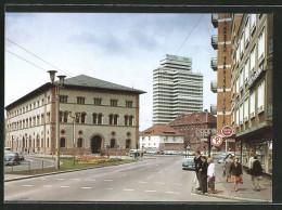 AK Kaiserslautern, Fruchthalle Und Neues Rathaus - Kaiserslautern