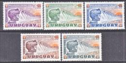 URUGUAY  B 5-7, CB 1-2  **  CHILD  WATER  DAM - Uruguay