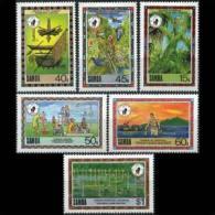 SAMOA 1988 - Scott# 741-6 Conservation Set Of 6 MNH - Samoa