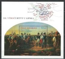 Czech. Rep. Scott # 3588 MNH S/sheet. 200th. Anniv. Battle Of Leipzig.  2013 - Blocks & Sheetlets